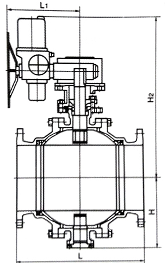 电动固定wwwyabo124结构示意图
